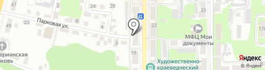 Санги Стиль на карте Щёкино