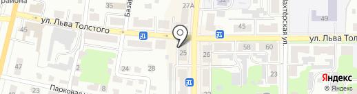 Иголочка на карте Щёкино