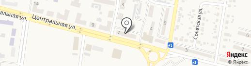Богиня на карте Красногоровки
