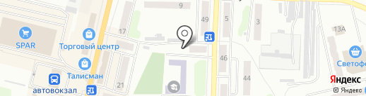 Символ роскоши на карте Щёкино