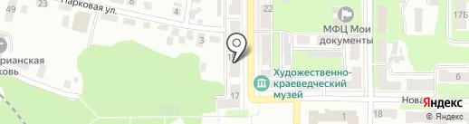 Step на карте Щёкино