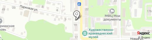 Знай`ка на карте Щёкино