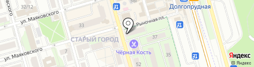 Pay.Travel на карте Долгопрудного