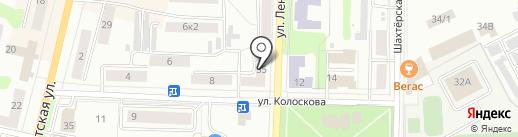 Тульская региональная спортивная общественная организация клуб каратэ-до Шотокан на карте Щёкино