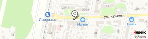 Чётко вижу на карте Подольска