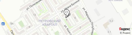 Альфа на карте Петровского