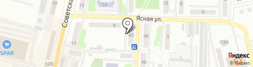 Щёкино-5 на карте Щёкино