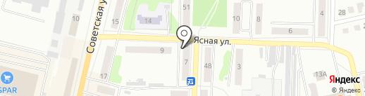 Березка, ЗАО на карте Щёкино