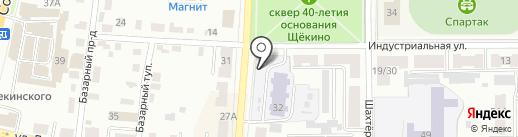 Детский сад №15 на карте Щёкино
