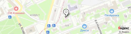 Tango-Пицца на карте Москвы