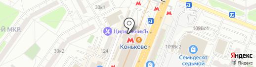 Магазин обуви на карте Москвы