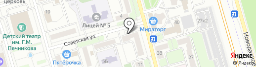 Qiwi на карте Долгопрудного