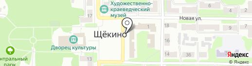 ИДЕЯ на карте Щёкино