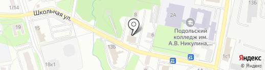 Участковый пункт полиции на карте Климовска