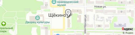 Элегия на карте Щёкино