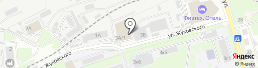 ДСТ-КОЛОР на карте Долгопрудного