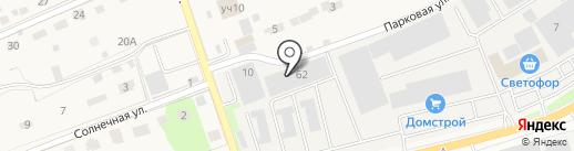 Домстрой на карте Петровского