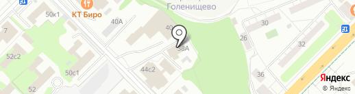 Armstrong на карте Москвы