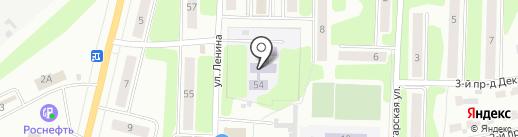 Детский сад №28 на карте Щёкино