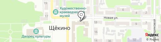 ТНС энерго Тула на карте Щёкино
