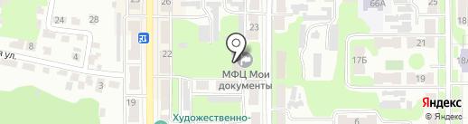 Многофункциональный центр предоставления государственных и муниципальных услуг на карте Щёкино