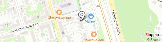 ЭКОНОМ на карте Долгопрудного