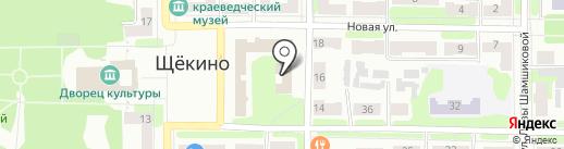 Банкомат, Сбербанк, ПАО на карте Щёкино