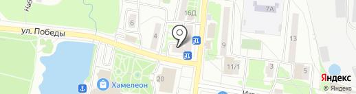 В шоколаде на карте Подольска