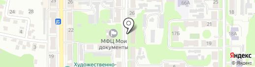 Территориальный отдел Министерства труда и социальной защиты Тульской области на карте Щёкино