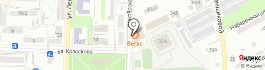 Продуктовый магазин на карте Щёкино