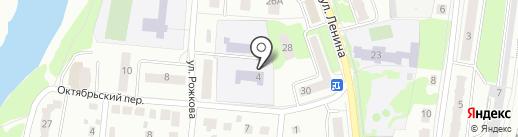 Детский сад №3, Колокольчик на карте Климовска