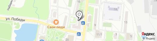 Окна Аттик на карте Климовска