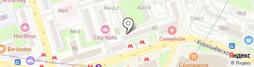 International AUTO CLUB на карте Москвы