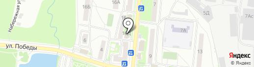 Сундучок рукодельницы на карте Подольска
