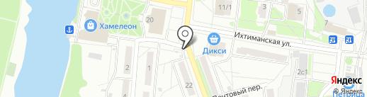 Киоск по продаже детского питания на карте Климовска