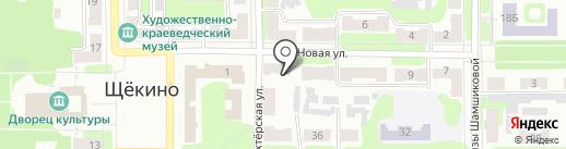 Щёкинский вестник на карте Щёкино