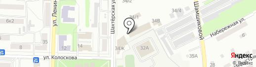 Фламинго на карте Щёкино