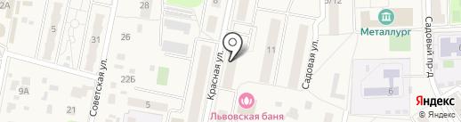 УФМС на карте Львовского
