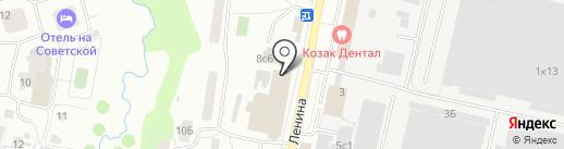 МегаФон на карте Климовска