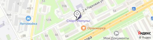 МИР ИГРУШЕК на карте Подольска