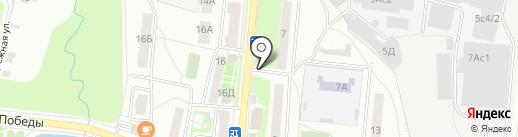 Киоск по продаже печатной продукции на карте Климовска