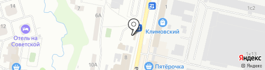 Юлис на карте Климовска