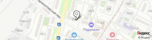 Кабинет врача Артемьева А.О. на карте Москвы