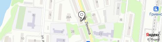 Вещевая ярмарка на карте Климовска