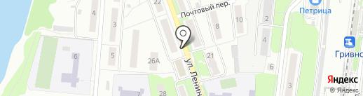 Киоск по ремонту обуви на карте Климовска