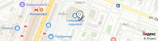 Скиллфит на карте Москвы