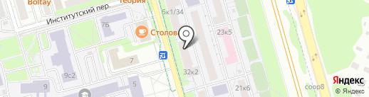 Аварийная замочная служба 911 на карте Долгопрудного