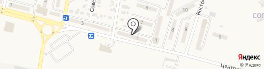 Ермолинские полуфабрикаты на карте Красногоровки