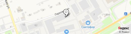 Магнум на карте Петровского