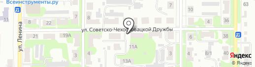 Мастерская по ремонту телевизоров на карте Щёкино